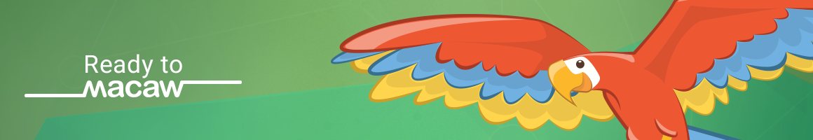 Macaw Banner