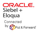 Integration for Oracle Siebel with Oracle Eloqua and the marketing cloud.