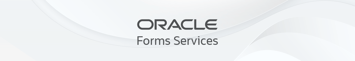 Oracle Forms Services